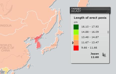 ペニス,平均,サイズ,日本人